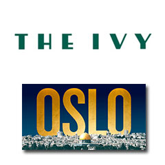 Book Oslo + 2 Course Post-Theatre Dinner at The Ivy Tickets