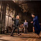 Toby Jones, Aimee Lou Wood, Rosalind Eleazar in Uncle Vanya, Harold Pinter Theatre - photos by Johan Persson