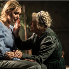 Aimee Lou Wood, Anna Calder-Marshall in Uncle Vanya, Harold Pinter Theatre - photos by Johan Persson