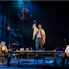 Richard Armitage, Toby Jones, Peter Wight in Uncle Vanya, Harold Pinter Theatre - photos by Johan Persson