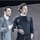 Tom Hiddleston and Charlie Cox in Betrayal at the Harold Pinter Theatre Photo Credit: Marc Brenner