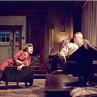 Imelda Staunton and Conleth Hill in Edward Albee's Who's Afraid of Virginia Woolf? Photo by Johan Persson