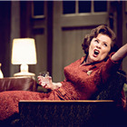 Imelda Staunton in Edward Albee's Who's Afraid of Virginia Woolf? Photo by Johan Persson