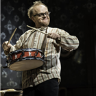 Toby Jones in The Birthday Party. Credit: Johan Persson