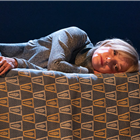 Jane Horrocks in The Room/Victoria Station/ Family Voices at The Harold Pinter Theatre, London. Photo credit: Marc Brenner