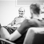 David Suchet in rehearsals for Pinter at the Pinter - The Lover/ The Collection at the Harold Pinter Theatre. Photo Credit: Marc Brenner.
