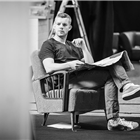 Russell Tovey in rehearsals for Pinter at the Pinter - The Lover/ The Collection at the Harold Pinter Theatre. Photo Credit: Marc Brenner.