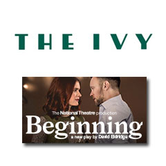 Book Beginning + 2 Course Post Theatre Meal at The Ivy Tickets