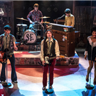 The cast of All Or Nothing - The Mod Musical at the Ambassadors Theatre, London