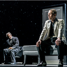 Oliver Alvin-Wilson and Daniel Crossley in The Twilight Zone at The Ambassadors Theatre. Photo Credit Johan Persson
