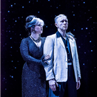 Natasha J Barnes and Daniel Crossley in The Twilight Zone at The Ambassadors Theatre. Photo Credit Johan Persson