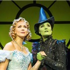 Savannah Stevenson (Glinda) and Kerry Ellis (Elphaba). Photo by Matt Crockett.