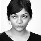Deepal Parmar (Ensemble). East Is East at Trafalgar Studios, 2014.