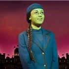 Emma Hatton as Elphaba in Wicked. Photo: Matt Crockett