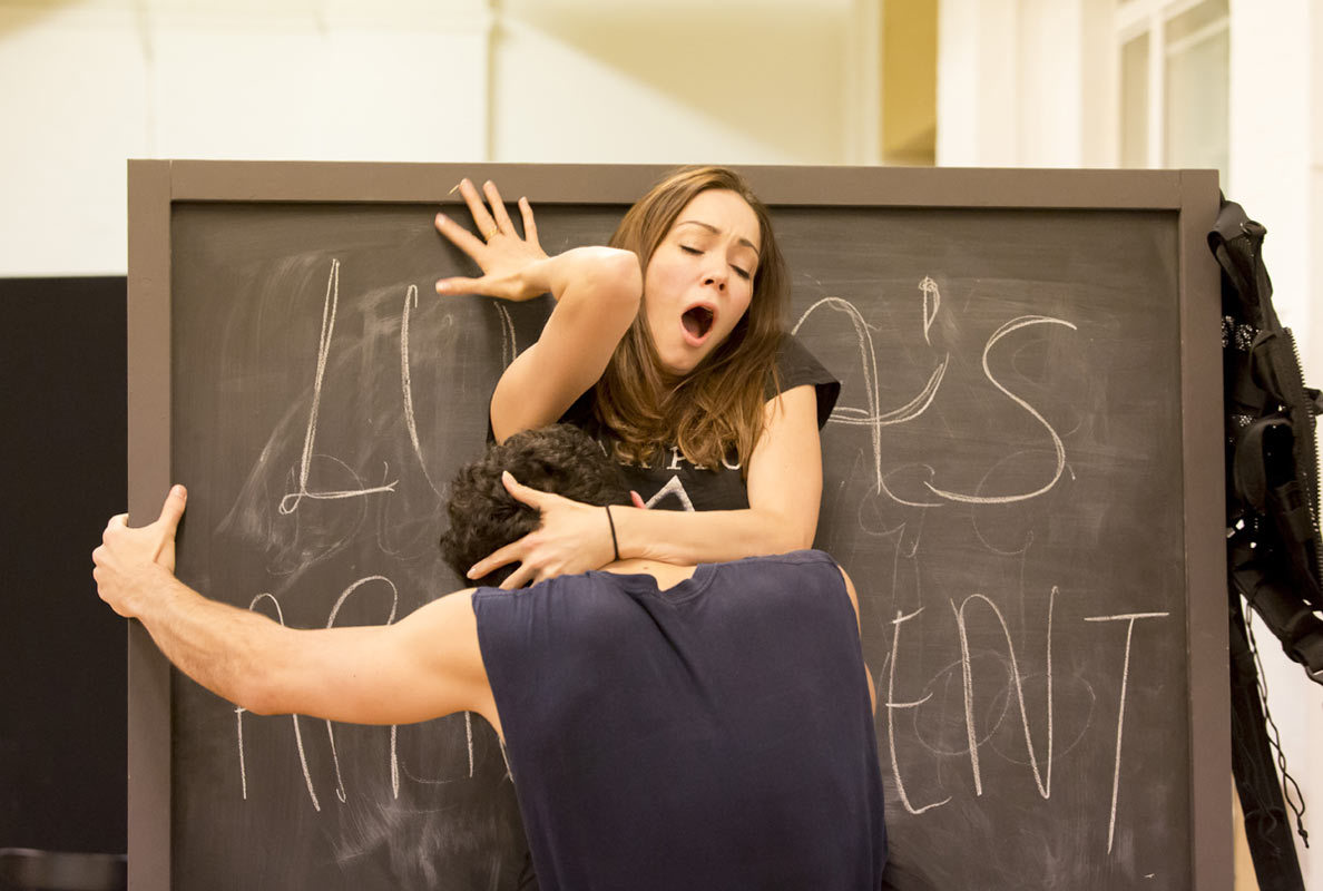 Anna Skellern Photos photos: behind the scenes at women on the verge rehearsals