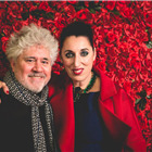 Pedro Almodovar and Rossy de Palma. Photo by Darren Bell for ATG.