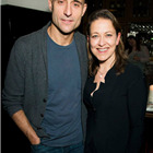 Mark Strong (Eddie) and Nicola Walker (Beatrice) at the press night party for A View from the Bridge. Photos by David Jensen.