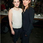 Phoebe Fox (Catherine) and Nicola Walker (Beatrice) at the press night party for A View from the Bridge. Photos by David Jensen.
