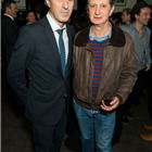 Director Ivo van Hove and Young Vic Artist Director David Lan at the press night party for A View from the Bridge. Photos by David Jensen.