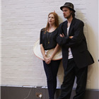 Rosalie Craig and Paul Hilton in wonder.land rehearsals. Photo by Brinkhoff and Mogenburg