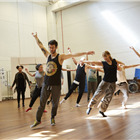 The company in wonder.land rehearsals. Photo by Brinkhoff and Mogenburg