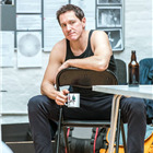 Bertie Carvel in rehearsals for The Hairy Ape, London 2015. Photo by Manuel Harlan.