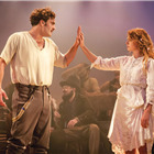 Tom Bateman (Doricles/Florizel) and Jessie Buckley (Perdita) in The Winter�s Tale at the Garrick Theatre. Photo: Johan Persson/Kenneth Branagh Theatre Company/Garrick