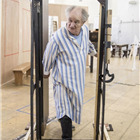 Jim Broadbent (Ebenezer Scrooge) in A Christmas Carol rehearsals. Photo by Marc Brenner.