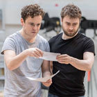 Read More - PHOTOS: Daniel Radcliffe in Rosencrantz And Guildenstern rehearsals