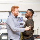 Director Joe Murphy and John Boyega. Photo by Manuel Harlan
