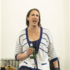 Miranda Hart in Annie rehearsals. London, May 2017.
