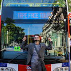 Read More - PHOTOS: Tape Face leads unique London bus-top tour