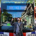 Read More - PHOTOS: Tape Face leads unique London bus-top tour
