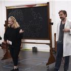 Susan Stroman and Hadley Fraser in Young Frankenstein rehearsals. London, 11 August 2017. © LOVEtheatre/Group Line