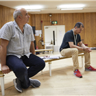 Peter Polycarpou and Nabil Elouahabi in Oslo rehearsals. Photo by Brinkhoff & Mogenberg