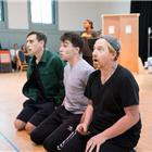 The cast of Big Fish The Musical in rehearsals at The Other Palace, London.