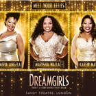 Meet the new Effies - Moya Angela, Marisha Wallace and Karen Mav take on the role of Effie White in Dreamgirls. Now playing at the Savoy Theatre, London.