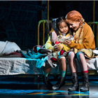 Nicole Subebe (Molly) and Ruby Stokes (Annie) - Photo credit: Paul Coltas