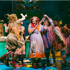 Meera Syal (Miss Hannigan) and the West End cast of Annie - Photo credit: Paul Coltas