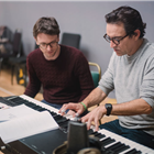 Inside the rehearsals for Mood Music at the Old Vic Theatre, London.