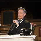 Richard Clothier as Sir Wilfrid Robarts in Witness for the Prosecution. Credit: Ellie Kurttz.