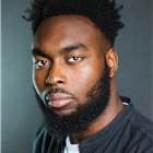 Abraham Popoola, appearing in Party Time/ Celebration as part of the Pinter at the Pinter season.
