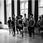 The West End cast of The King and I in rehearsals at the London Palladium. Photo credit: James Bullimore
