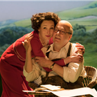 Roger Allam and Nancy Carroll in The Moderate Soprano at the Duke of York's Theatre.
