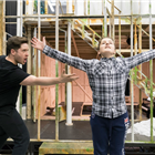 Elgan Thomas and Daniel Alexander Sidhom in rehearsals for The Turn of the Screw at the Regent's Park Open Air Theatre. Photo credit: Johan Persson
