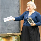 Sarah Pring in rehearsals for The Turn of the Screw at the Regent's Park Open Air Theatre. Photo credit: Johan Persson