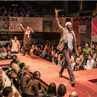 First look at Stephen Daldry and Justin Martin's West End transfer of The Jungle. Photo credit: Marc Benner.