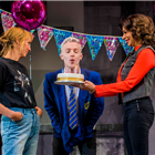 Rebecca McKinnis, John McCrea and Shobna Gulati in Everybody's Talking About Jamie.