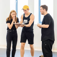 Read More - PHOTOS: Behind the scenes at the rehearsals for Eugenius!