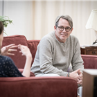 The Starry Messenger at the Wyndham's Theatre starring Matthew Broderick and Elizabeth McGovern. Photo Credit: Marc Brenner